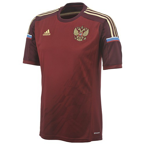Russia home jersey World Cup 2014