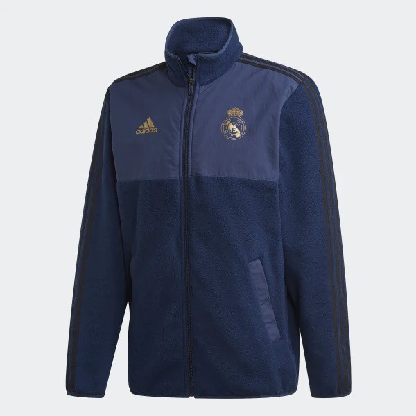 Real Madrid tee - black - gold