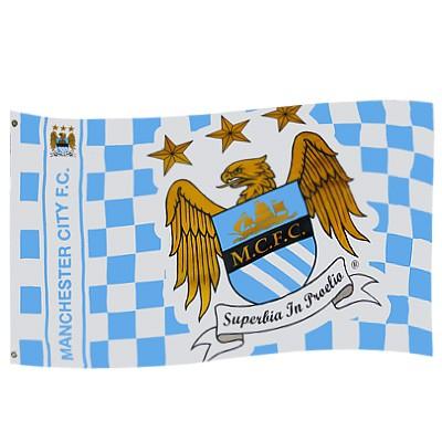 Manchester city flag 5x3