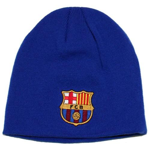 FC Barcelona beanie hat blue