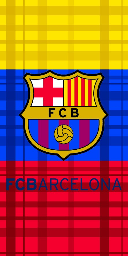 FC barcelona team colors towel 2013/14