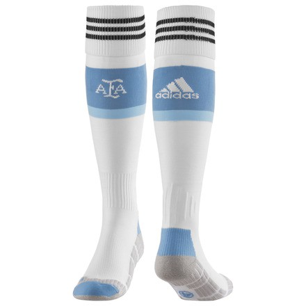 Argentina home socks World Cup 2014