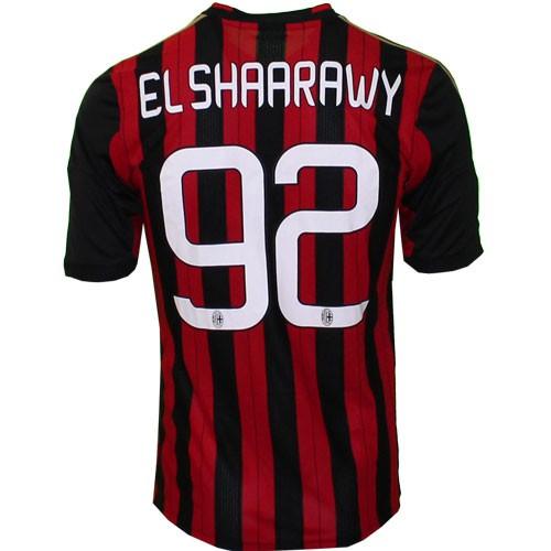 AC Milan hjemme trøje 2013/14 - El Sharaawy 92
