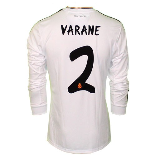 Real Madrid home jersey long sleeve 2013/14 - V2