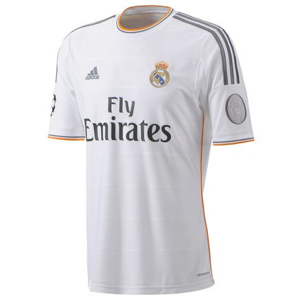 Real Madrid UCL home jersey 2013/14