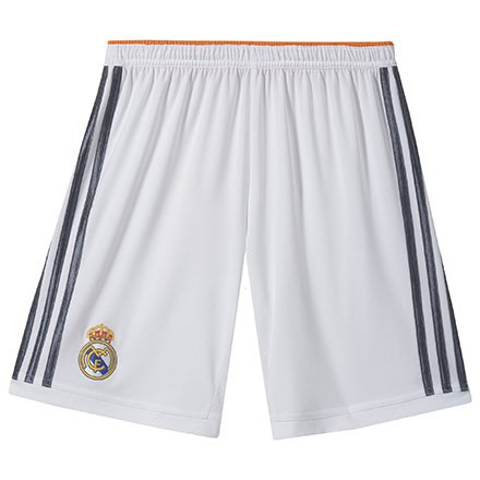 Real Madrid Home Shorts Youth 13/14
