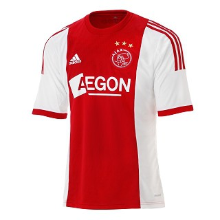 Ajax home jersey youth + adult 2013/14