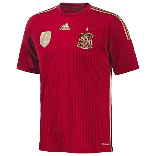 Spain home jersey World Cup 2014