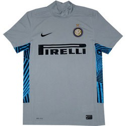 Inter goalie jersey 11-12 grey