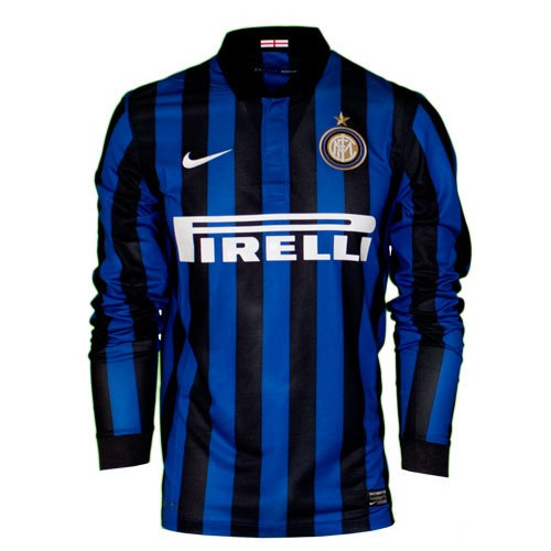Inter home jersey long sleeve 11-12