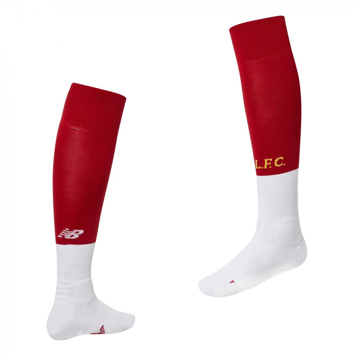 Liverpool home socks - boys