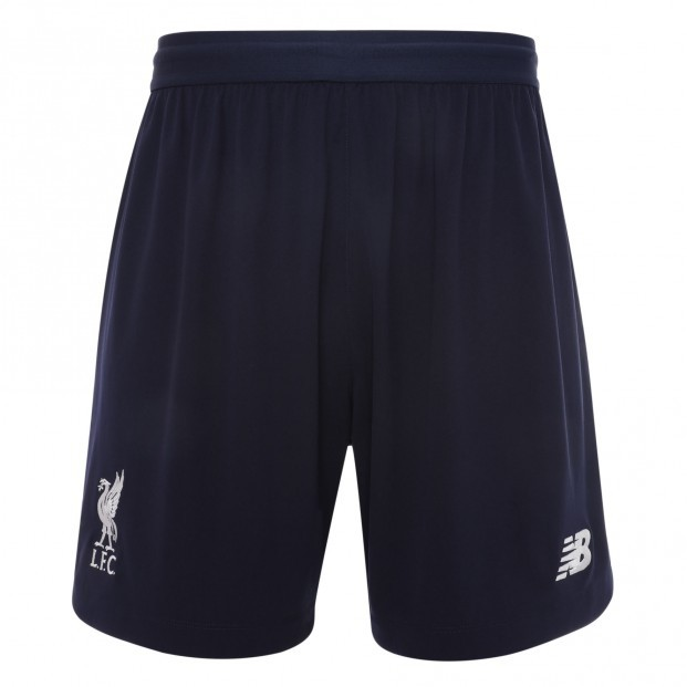 Liverpool home shorts - boys