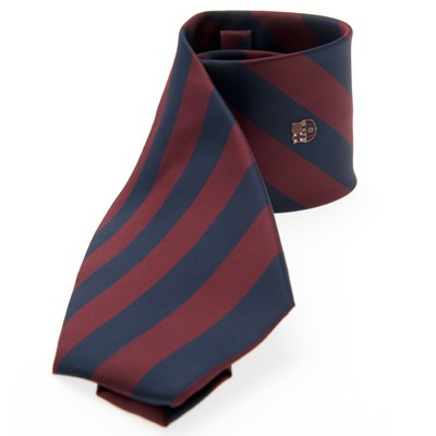 FC Barcelona tie broad stripes