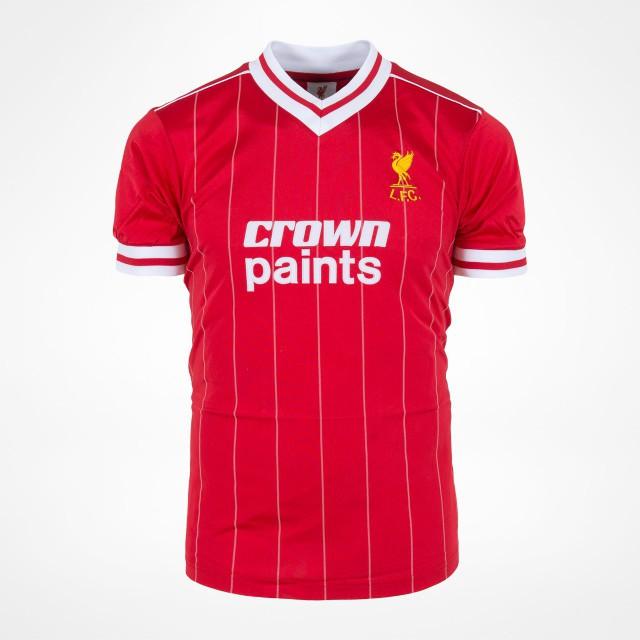 Liverpool FC retro shirt 1982