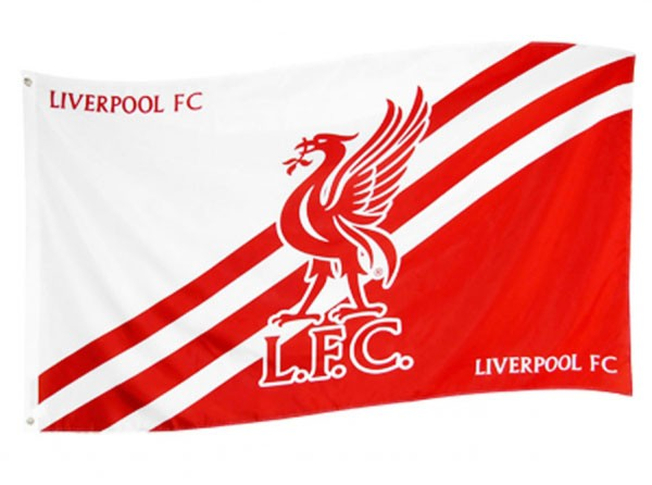 Liverpool flag - LiverBird