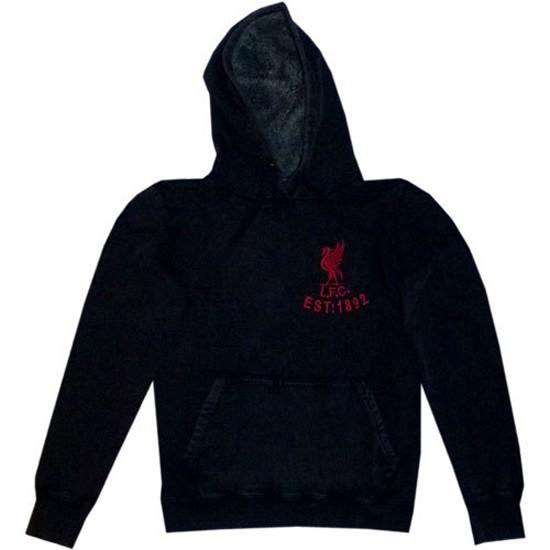 Liverpool hoody top women's - grey