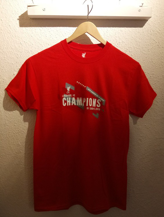 Liverpool tee - Champs of Europe 2019