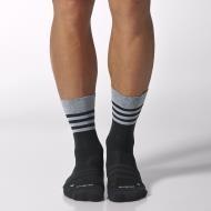 Adidas crew light weight socks - black