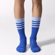 Adidas crew light weight socks - blue