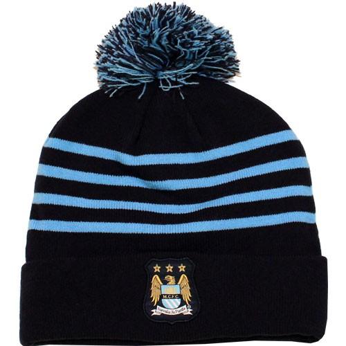 Manchester City beanie hat 2013/14