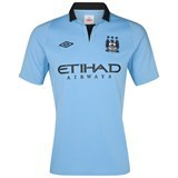 Manchester City hjemmetrøje 2012/13