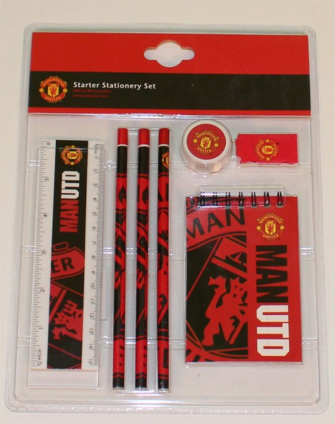 Manchester united starter stationary set