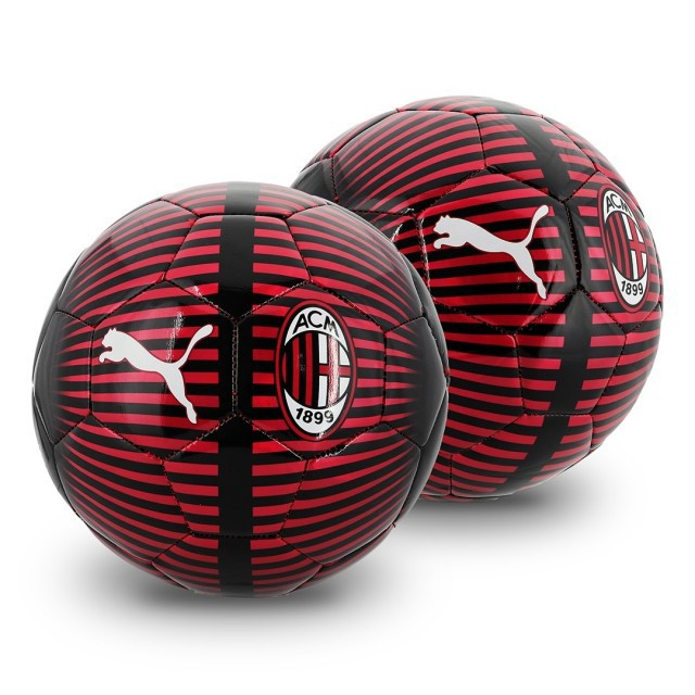 AC Milan soccer ball - chrome