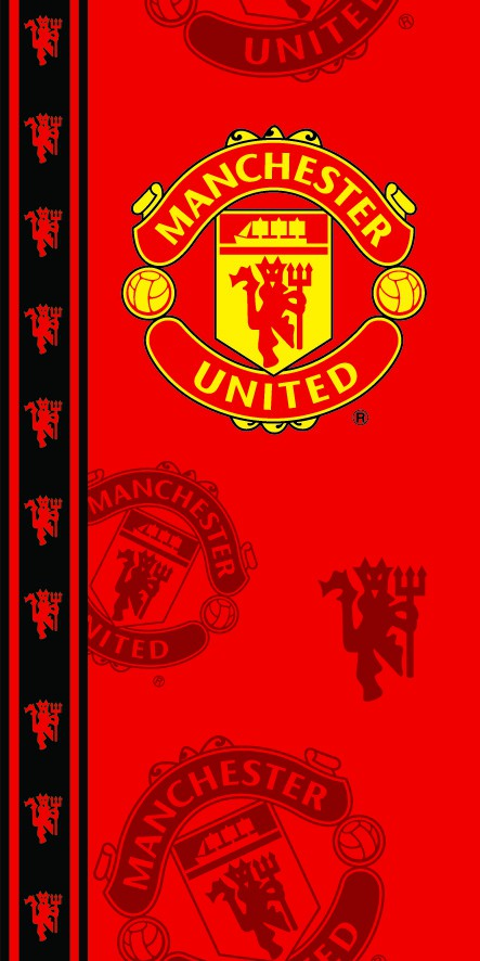 Manchester United towel - red devils