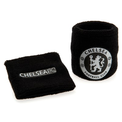 Chelsea wristbands black silver