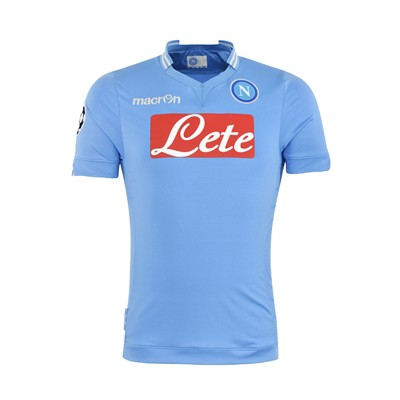 Napoli UCL home jersey 2013/14