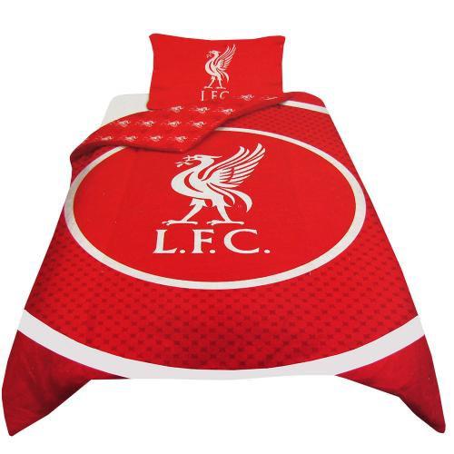 liverpool sengetøj Liverpool sengetøj | Liverpool sengesæt med motiv i tyren's øje liverpool sengetøj