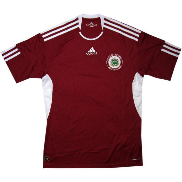 Latvia home jersey 2010/12