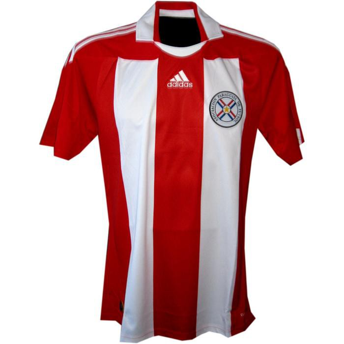 Paraguay home jersey 2010