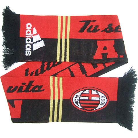 AC Milan soccer scarf 2010/11