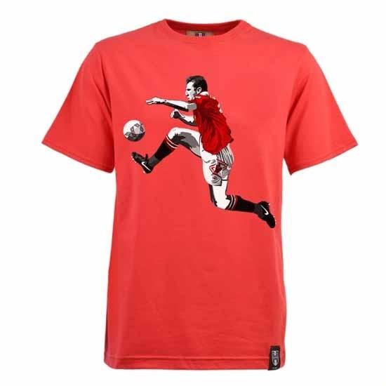 Miniboro Cantona T-Shirt- Red