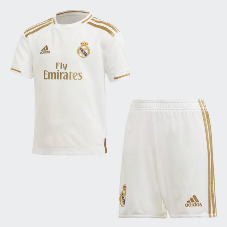 Real Madrid home kit - little boys