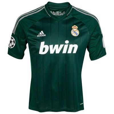 Real Madrid udebane CL trøje 12-13