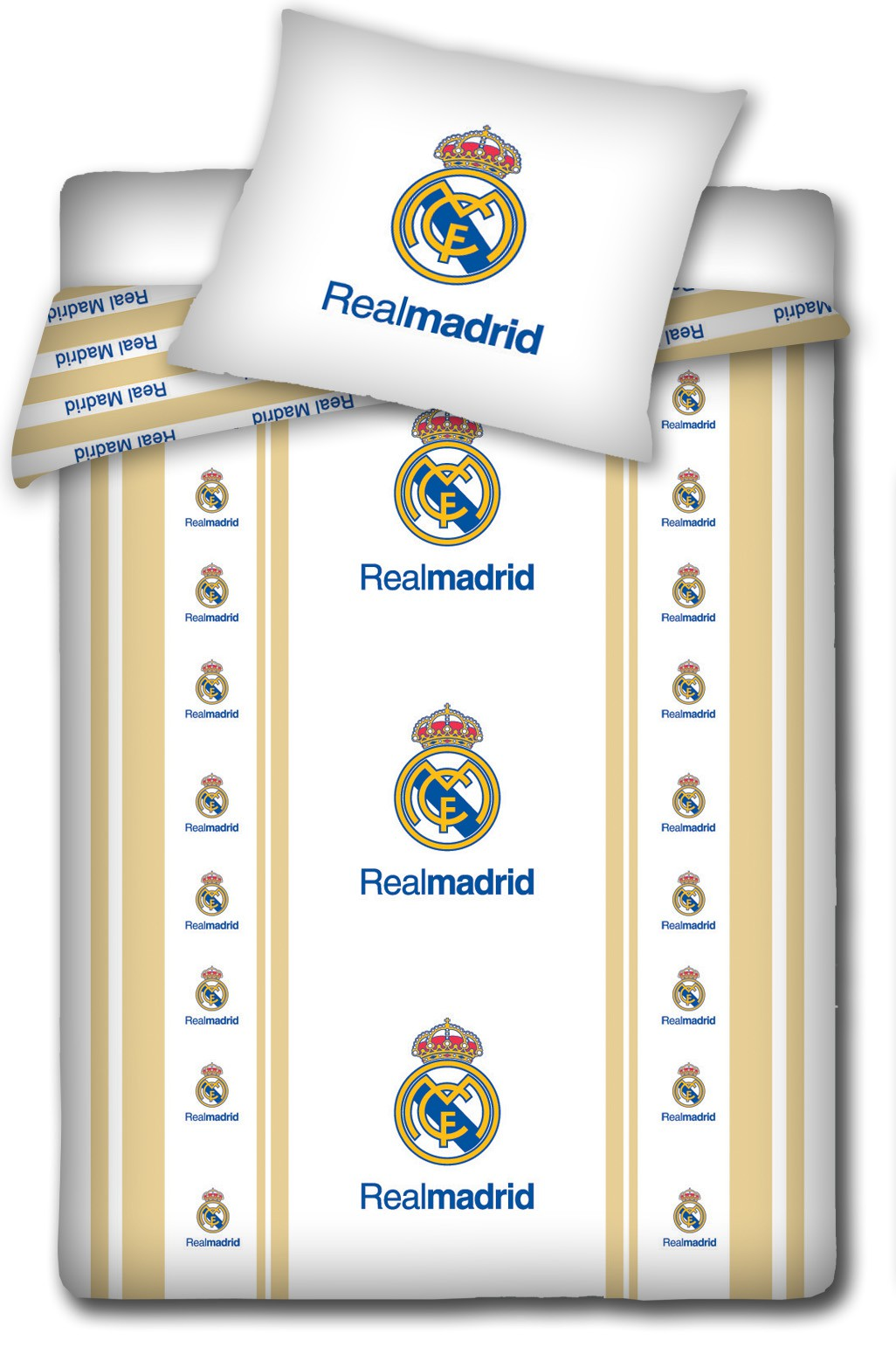 Real madrid crests duvet set
