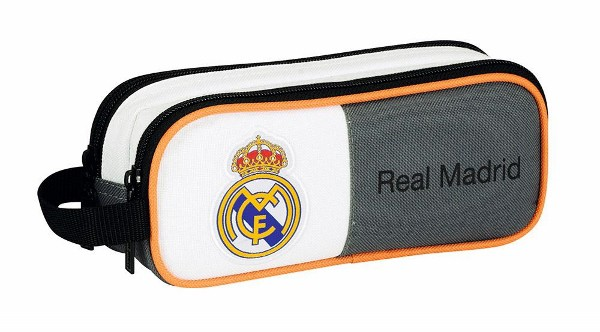 Real Madrid pencil case double