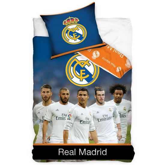 real madrid sengetøj Real Madrid sengetøj Ronaldo, Bale | Real Madrid sengesæt   stjerner real madrid sengetøj