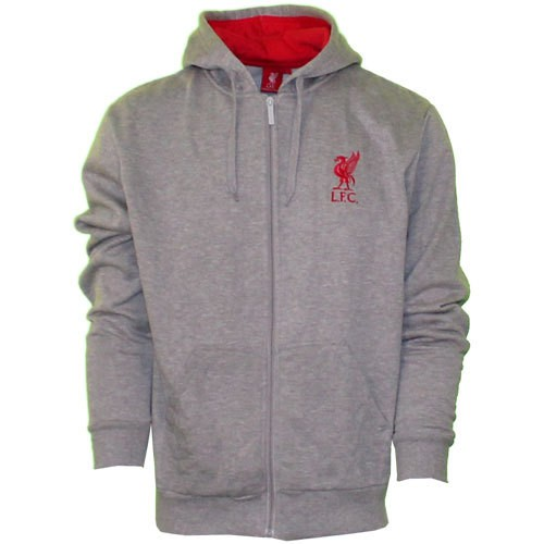 Liverpool fleece zip hoody 2013/14