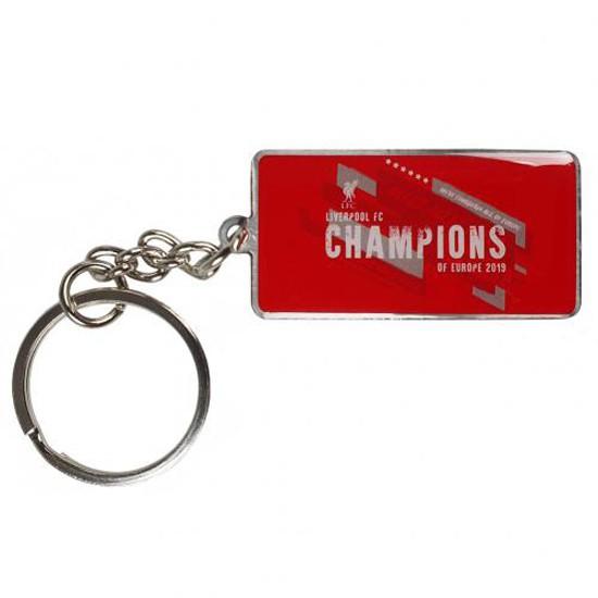 Liverpool Champions Europe Keyring Trade
