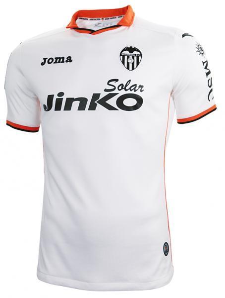 Valencia home shirt small sleeve 2013/14