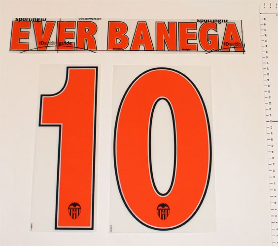 Valencia home print 2013/14 - Ever Banega 10
