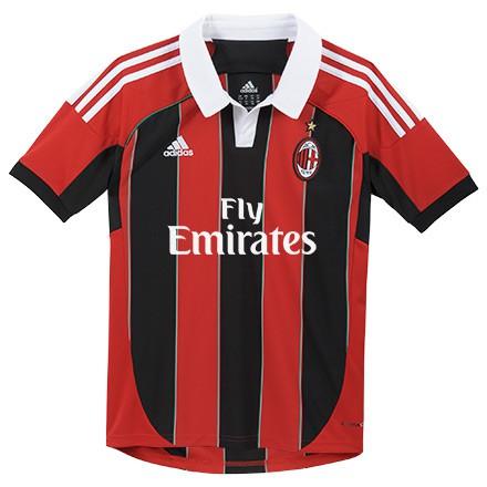 AC Milan Hjemme Trøje 2012/13 - børn