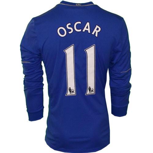 Chelsea home jersey 2012/13 - Oscar 11