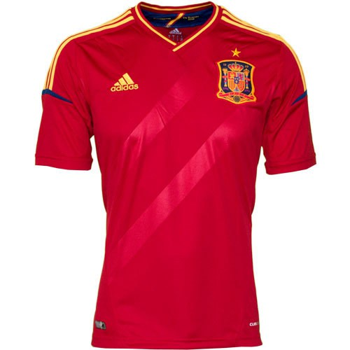 Spain home jersey 2012