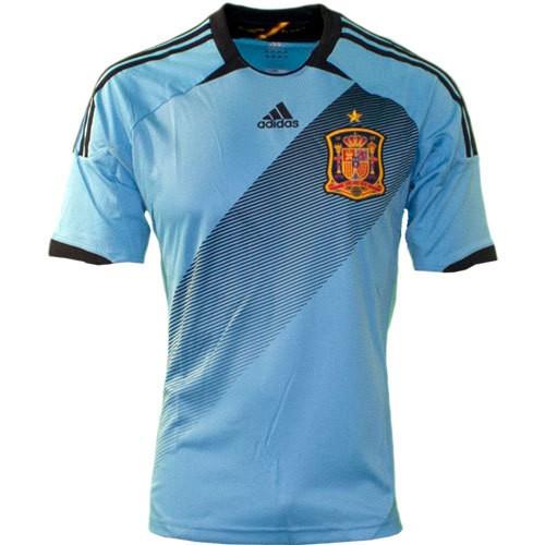 Spain away jersey 2012