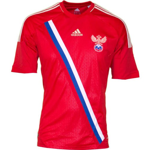 Russia home jersey 2012