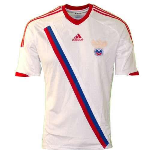 Russia away jersey 2012